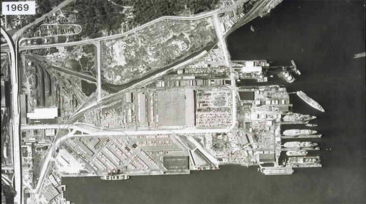 Terminal 5 Operations in 1969