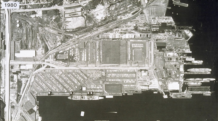 Terminal 5 Operations in 1974
